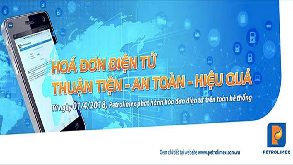 Từ ngày 1-4, Petrolimex phát hành hóa đơn điện tử trên toàn hệ thống